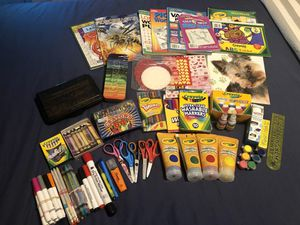 Bunch of art/school supplies - FREE for Sale in Bonney Lake, WA