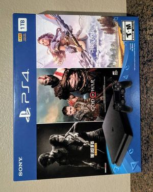 BRAND NEW PS4 Playstation 4 Slim 1TB with 3 games for Sale in Stone Ridge, VA