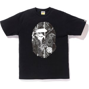 BAPE Big Ape Head Forest Camo Tee Black/White (XL) for Sale in Munster, IN