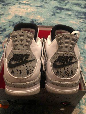 2012 Nike Jordan cement 4s size 10.5 for Sale in Moreno Valley, CA