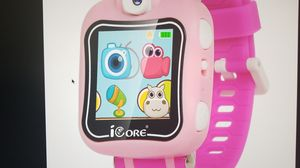 Icore kid's watch durable smart watch for kids, game pink camera smart watch for Sale in Woodbridge, VA