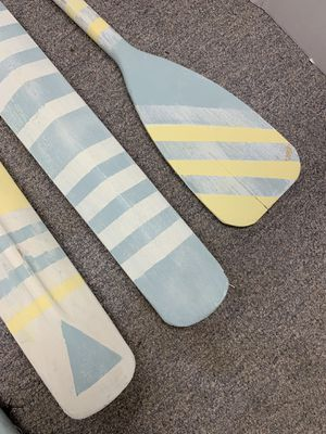 Cricket Bats and Boat Paddles (Set of Four) for Sale in Marietta, GA
