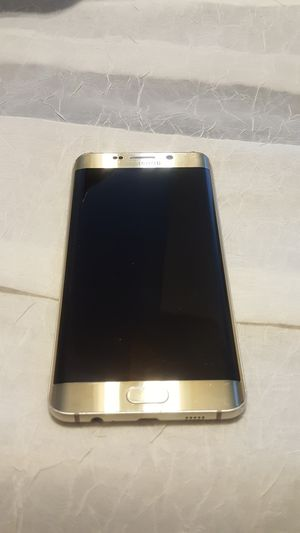 Samsung galaxy S6 Edge Plus 32gb Gold unlocked. for Sale in Severn, MD