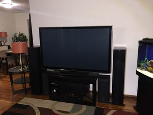 Panasonic TV. 65 in. 3D. Excellent condition. for Sale in Clackamas, OR
