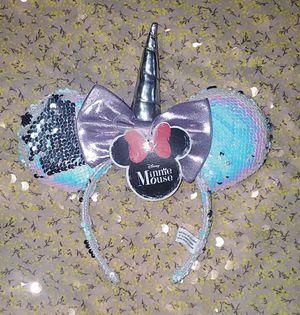 Disney Unicorn Minnie Ears for Sale in Tampa, FL