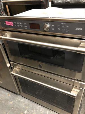"30"" GE Cafe Microwave Oven Combo Stainless Steel for Sale in Corona, CA"