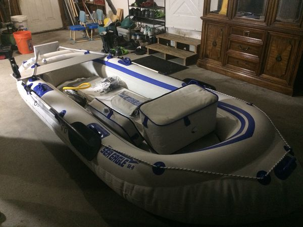 Inflate boat