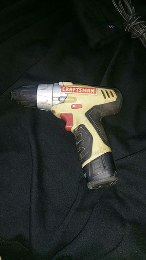 Craftmens 3/8 10mm cordless drill driver for Sale in San Francisco, CA