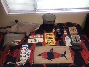 Shark Bedding plus Decor for Sale in Salt Lake City, UT