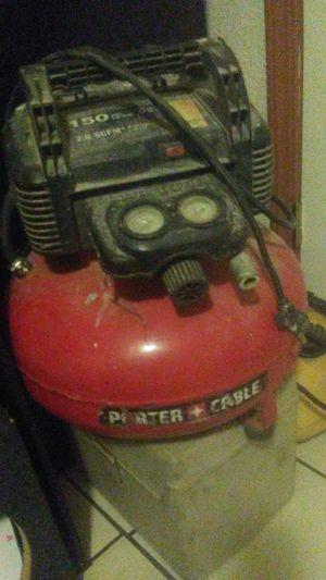 Porter cable 150 psi air compressor for Sale in Stockton, CA