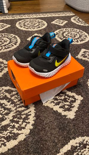 Size 4 Nike sneakers for baby for Sale in Barrington, RI