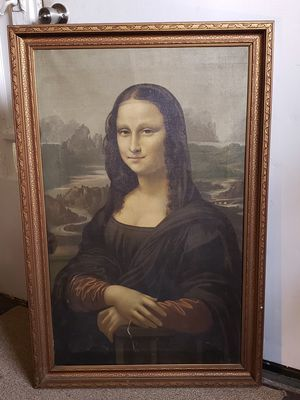 Mid 20th century Mona Lisa for Sale in Columbus, OH
