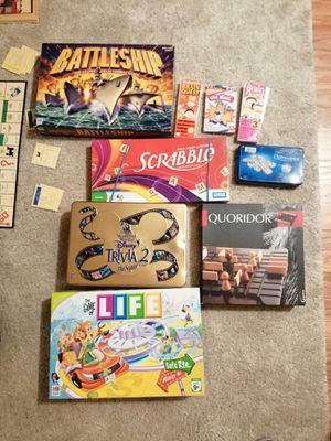 Fun board games, used. for Sale in Pleasant Hill, CA