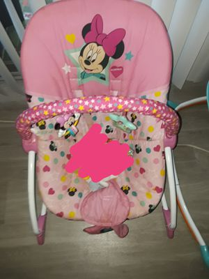 Mickey Bouncer and Hello Kitty Carseat for Sale in Irving, TX