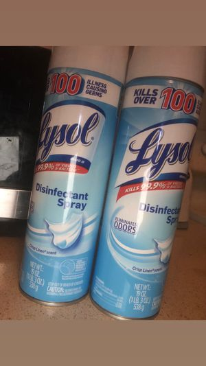 2 for $35 lysol wipes 2 for $25 for Sale in Miramar, FL