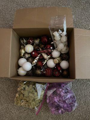 Christmas tree decorations for Sale in Alexandria, VA