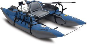 Colorado XTS Inflatable Fishing Pontoon Boat With Transport Wheel, Motor Mount & Swivel Seat for Sale in Las Vegas, NV