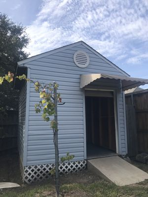 Brand new shed with electric door for Sale in Flower Mound, TX