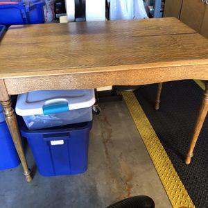 Adjustable Oak Table or Desk for Sale in San Diego, CA