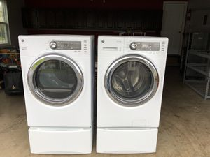 GE HE front load washer and dryer with drawers. for Sale in Leesburg, VA