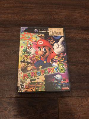 Nintendo GameCube Mario party 6 for Sale in Bayonne, NJ