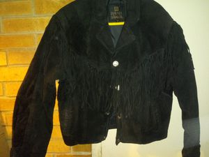 Men's suede fringed coat for Sale in Parma, OH