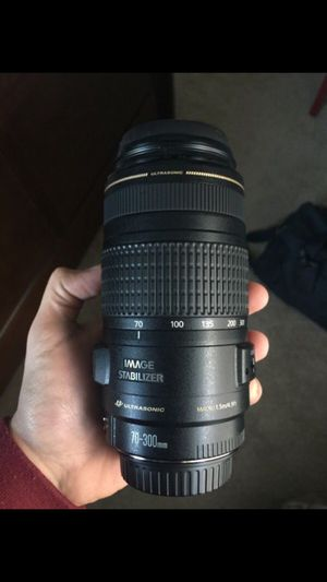 Canon EF 70-300mm f/4-5.6 IS USM Lens for Sale in Cleveland, OH