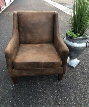 Uttermost Clay leather nailhead accent armchair retail $831 for Sale in San Diego, CA