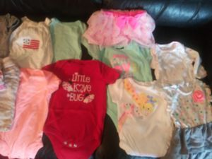 37 pieces -baby girl -0-3 months for Sale in Garland, TX