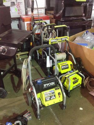 Ryobi electric pressure washer 1700 psi for Sale in Phoenix, AZ