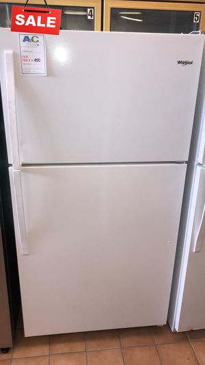 FIRST COME!!CONTACT TODAY! Refrigerator Fridge Whirlpool Works Perfect #1476 for Sale in Silver Spring, MD