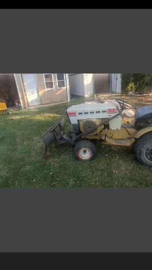 Sears garden tractor with plow and snow blower for Sale in New Lenox, IL