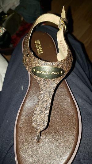 Michael Kors ladies sandals. for Sale in Philadelphia, PA