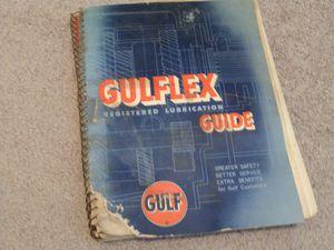 Original gulf lubrication manual for Sale in Vanceboro, NC