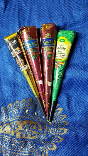 4 Henna Cones for Sale in Parsippany, NJ