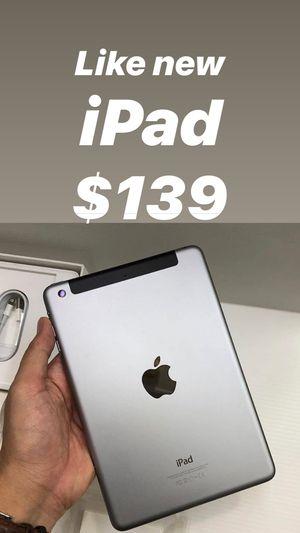 Like new iPad 4 generation WiFi $139 for Sale in Tampa, FL