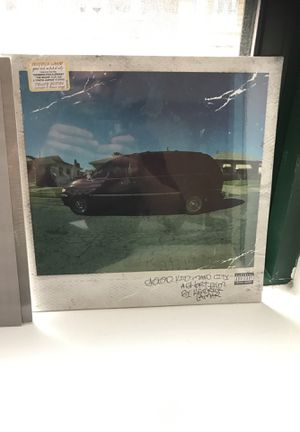 GKMC Kendrick Lamar vinyl unopened. Not signed. for Sale in Chicago, IL