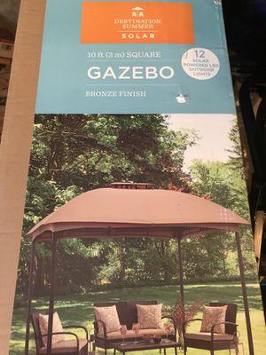 Gazebo 10x10 brand new in the box for Sale in Ashburn, VA