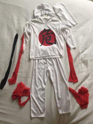 White Ninja costume kid size S for Sale in Miami, FL