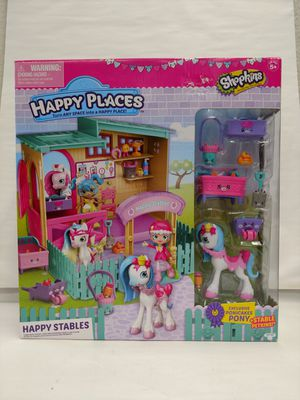 Happy Places Shopkins Happy Stables Playset for Sale in Milton, WA