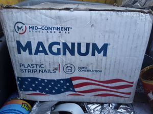 Magnum plastic coated nails for Sale in Las Vegas, NV