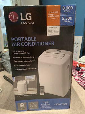 LG portable AC unit for Sale in Trenton, NJ