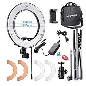 Neewer Ring Light 14 Inch & Table Stand for Sale in Ontario, CA