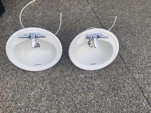 2 oval sinks for Sale in Mountlake Terrace, WA