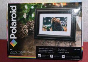 "Polaroid digital 7"" picture frame for Sale in Saint Joseph, MO"