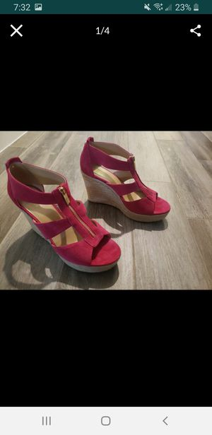 Michael Kors Zip Wedges size 10 for Sale in Lake Worth, FL