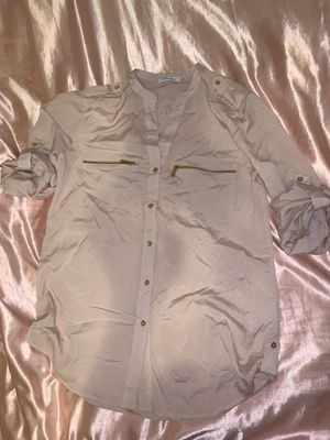 Calvin Klein pink blouse tunic for Sale in Arcadia, CA