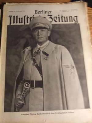 WW2....German Newspaper...AUTHENTIC for Sale in Sioux Falls, SD
