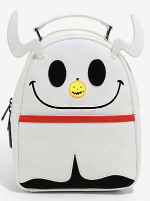 [NEW] Loungefly Disney The Nightmare Before Christmas Zero Glitter Light-Up Nose Mini Backpack Halloween Holiday for Sale in Westminster, CA