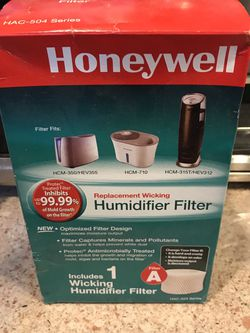 Honeywell HAC503 humidifier filter (new) for Sale in University Park,  MD